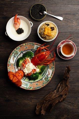 完美融合:魚子醬與海膽 / Chinese Fusion – Caviar & Sea Urchin @ Loong Yuen - Holiday Inn Golden Mile OKiBook Hong Kong and Macau Restaurant Buffet booking 餐廳和自助餐預訂