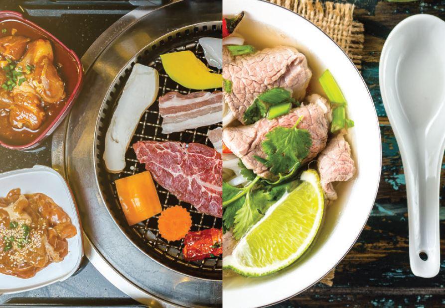 韓越大集會 / Korean and Vietnamese Food Festival @ Bistro on the Mile - Holiday Inn Golden Mile OKiBook Hong Kong and Macau Restaurant Buffet booking 餐廳和自助餐預訂