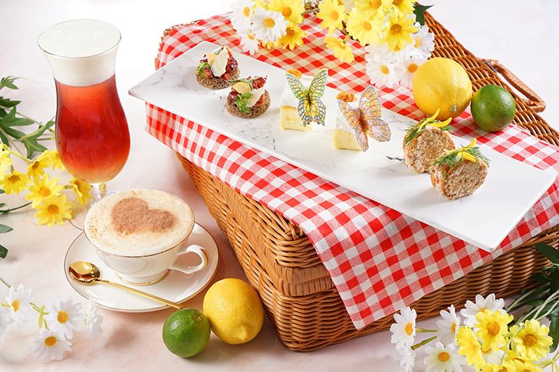 """「春日花見」雛菊香檸下午茶套餐 / """"Embrace Spring"""" Daisy and Lemon Afternoon Tea Set @ Harbour Restaurant - The Harbourview OKiBook Hong Kong and Macau Restaurant Buffet booking 餐廳和自助餐預訂"""