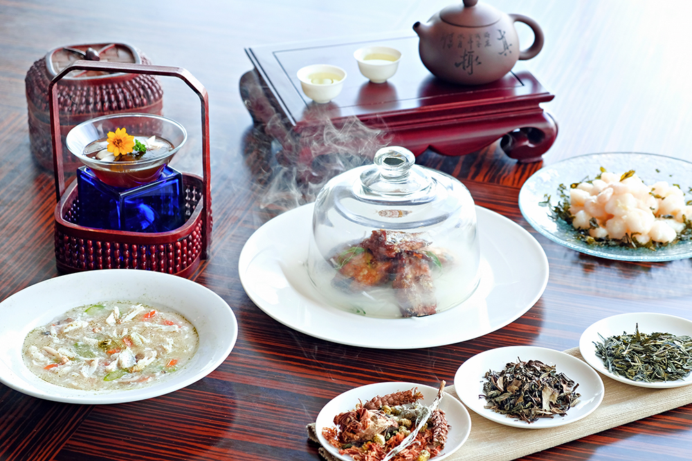 春暖花開 · 茶香四溢美食 / Tea-infused Dishes @ Man Ho Chinese Restaurant - Hong Kong SkyCity Marriott Hotel OKiBook Hong Kong and Macau Restaurant Buffet booking 餐廳和自助餐預訂