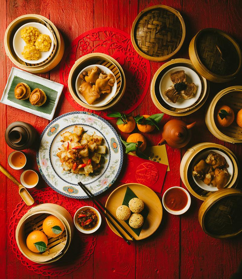 賀新年.嚐點心 / Auspicious Chinese New Year Delicacies @Loong Yuen - Holiday Inn Golden Mile OKiBook Hong Kong and Macau Restaurant Buffet booking 餐廳和自助餐預訂