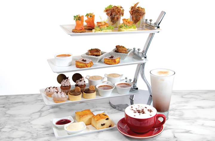 Ovaltine Afternoon Tea–_OKiBook Hong Kong and Macau Restaurant Buffet booking 餐廳和自助餐預訂_Tiffany Lounge-  Regal Hongkong Hotel