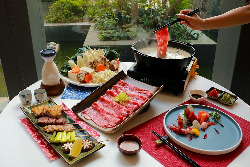 Shabu Shabu 日式火鍋 / Shabu Shabu @ Restaurant & Bar Umami - Le Méridien Cyberport OKiBook Hong Kong and Macau Restaurant Buffet booking 餐廳和自助餐預訂