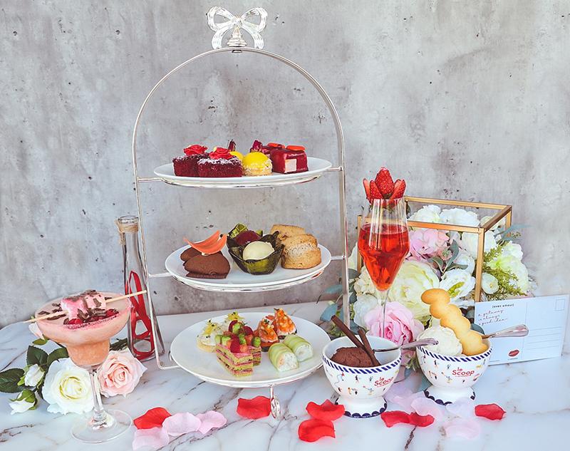 情人節下午茶 / Valentine's Day Tea Set @ Prompt Bistro - Le Méridien Hong Kong Cyberport OKiBook Hong Kong and Macau Restaurant Buffet booking 餐廳和自助餐預訂